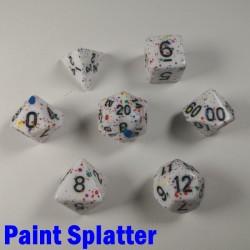 Particle Paint Splatter