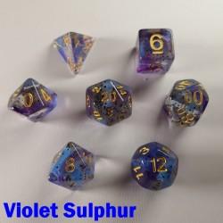 Particle Violet Sulphur