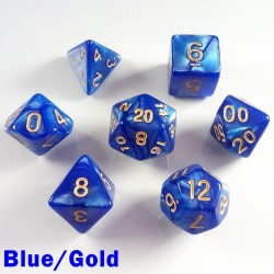 Pearl Blue/Gold