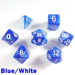 Pearl Blue/White