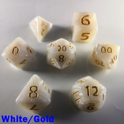 Giant Pearl White/Gold
