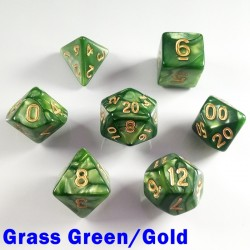 Pearl Grass Green/Gold