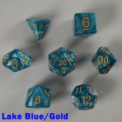 Pearl Lake Blue/Gold