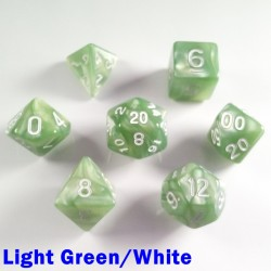Pearl Light Green/White