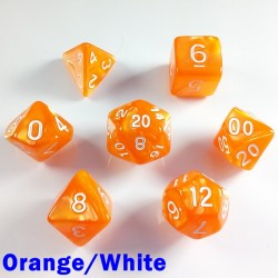Pearl Orange/White