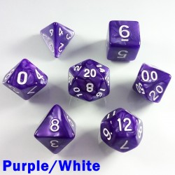 Pearl Purple/White