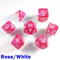 Pearl Rose/White
