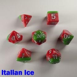 Rainbow Italian Ice