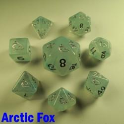 Spirit Of Arctic 'Arctic Fox' 8 Dice Set