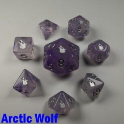 Spirit Of Arctic 'Arctic Wolf' 8 Dice Set