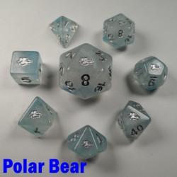 Spirit Of Arctic Polar Bear 8 Dice Set