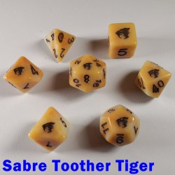 Spirit Of Extinction Sabre Toothed Tiger