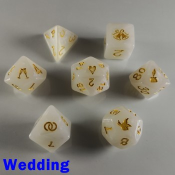 'Spirit Of' Occasion Dice - Wedding